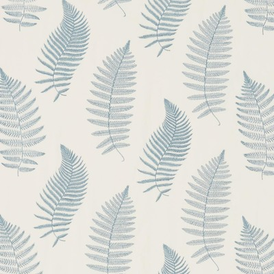 Fern Embroidery Powder Blue
